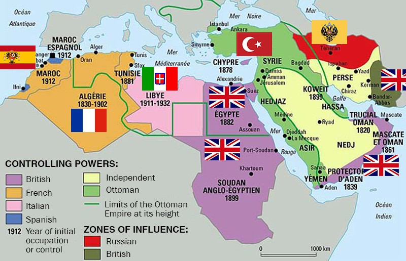 Cetiri Karte Koje Objasnjavaju Haos Na Bliskom Istoku