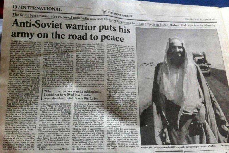 Photo of Ovako je britanski The Independent pisao o Bin Ladenu 1993. godine: Mirotvorac, biznismen…