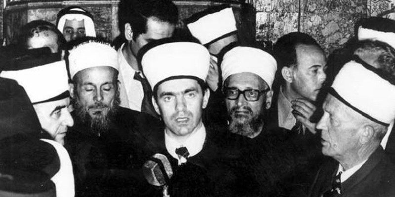 "Photo of Dr. Ahmed Smajlović o ""osnivaču vehabizma"" Muhammedu b. Abdulvehabu"