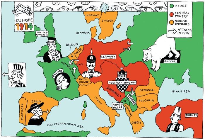 """Photo of Granice su povučene: Njemačka i geopolitika """"velikog rata"""""""