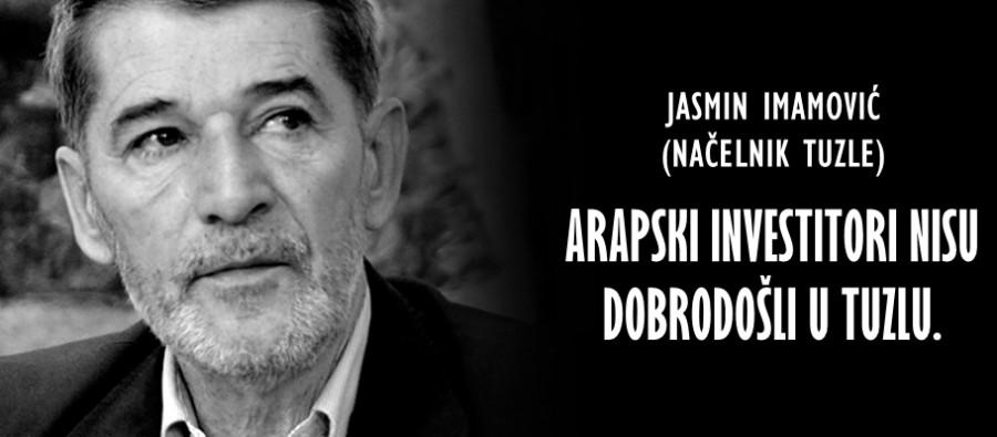 Photo of Jasmin Imamović – Arapski investitori nisu dobrodošli u Tuzlu