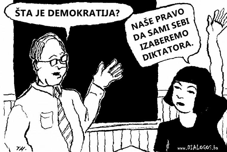 Photo of MITOVI DEMOKRATIJE: Većina je u pravu