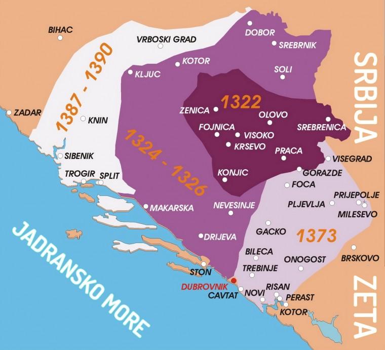 Photo of Srednjovjekovna bosanska država u vrijeme Bana Stjepana Kotromanića 1322-1353.