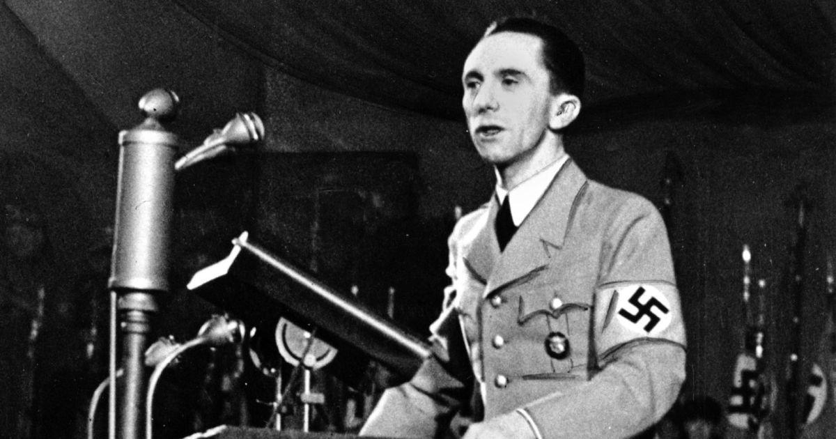 "Photo of Jozef Gebels: ""Propaganda treba da bude popularna, a ne intelektualna"""