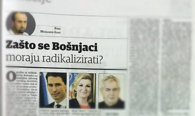 Photo of Zašto se Bošnjaci moraju radikalizirati