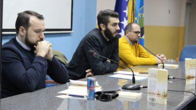 """Photo of U BKC-u Tuzla održana promocija knjige """"Rani islam i početak kapitalizma"""""""